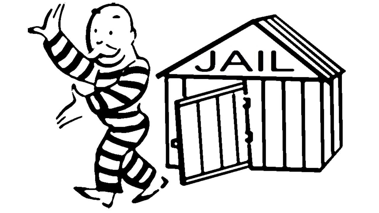 Burglary and conspiracy case dismissed by ventura county for Get out of jail free card template