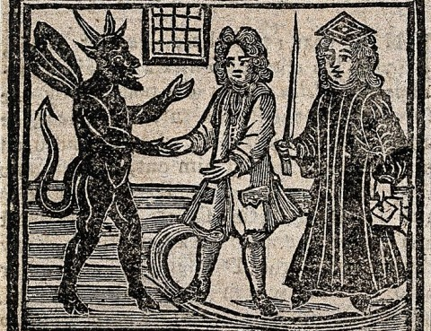 devil comes to court